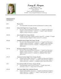 Teaching Resume Sample by Dance Teacher Resume Example Custodial Supervisor Objective
