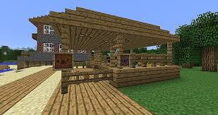 How To Build A Horse Barn In Minecraft 1 6 Horse Stable With Beach House Minecraft Project