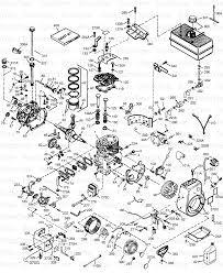 tecumseh hm100 159409p tecumseh 4 cycle horizontal engine engine