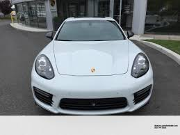 chrome porsche panamera certified pre owned 2016 porsche panamera gts one owner and low miles