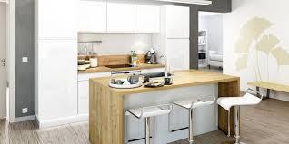 exemple cuisine avec ilot central modele cuisine equipee avec ilot central idée de modèle de cuisine