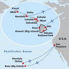 Kahului Airport Map Hawaii Inseln Der Kontraste Wanderferien 2018 Usa Baumeler