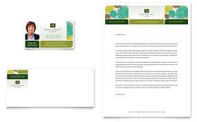 real estate business card u0026 letterhead template word u0026 publisher