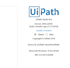 extending the trial version of uipath what is meant by device id