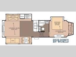 cardinal rv floor plans 7 best cardinal 5th wheel floor plans images on pinterest
