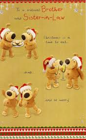 boofle brother u0026 sister in law christmas card cards love kates