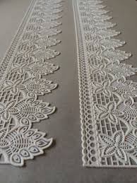 white cake lace 3d edible lace gatsby wedding antique art