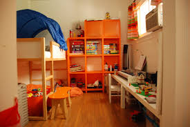 engaging childrens bedroom ideas design with blue red toddler bunk