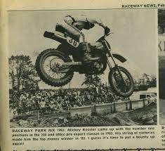 ama motocross national numbers mickey kessler archives nj motocross