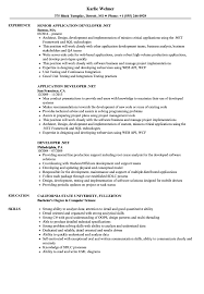 resume format exles documentation of android developer net resume sles velvet jobs