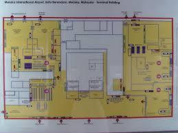 Airport Terminal Floor Plan by Melaka International Airport Wikipedia