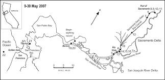 san francisco delta map map of the san francisco bay sacramento san joaquin river delta in