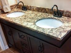 Oil Rubbed Bronze Light Fixtures With Brushed Nickel Faucets Before Buying That New Faucet Think Finish First Hgtv