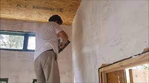 plastering u0026 painting osb walls the houses built tiny way youtube