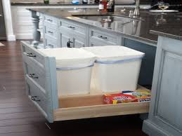 kitchen kitchen island with trash storage inside elegant kitchen