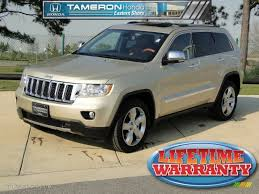 2011 jeep grand white 2011 white gold metallic jeep grand overland 61868601