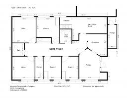 Chiropractic Office Floor Plan Glamorous 50 Office Space Plans Inspiration Of 40 Best Office