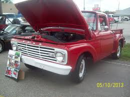 ford truck red 1963 ford f100 truck red joel u0027s old car pictures