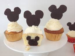 mickey mouse cupcakes howtocookthat cakes dessert chocolate mickey mouse cupcakes