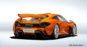 mclaren supercar p1 mclaren wraps p1 production with painted stunner mso now creating