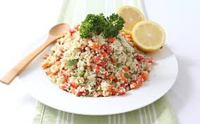 raw cauliflower couscous salad huffpost