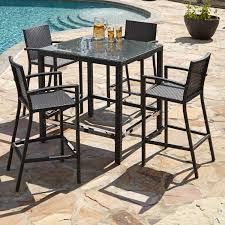 Outdoor Bar Table Set Resin Outdoor Bar Sets 20 Ways To Upgrade Your Home Expirience