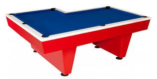 l shaped pool table shaped pool table