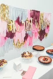 dessert table backdrop modern chic san francisco wedding cake table cake table