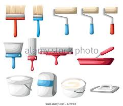 roller painter isolated icon vector stock photos u0026 roller painter