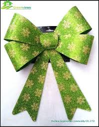 outdoor ribbon outdoor ribbon wholesale festival items glitter bow