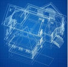 urban blueprint vector architectural background stock vector