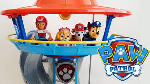 paw patrol lookout playset chase police vehicle toy