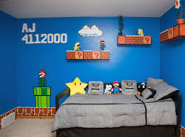 daughter wanted a mario bros themed room so that s what she got daughter wanted a mario bros themed room so that s what she got