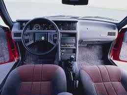 renault fuego black renault 10 car interiors cars and wheels