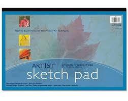 sketch pad etsy