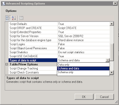 Sql Server Create Table Example Sql Server How To Simply Generate The Create Sql Script For A