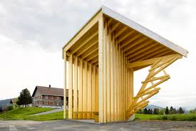 world famous architects world famous architects design seven stunning bus stops for a tiny