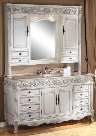 Refinish Vanity Cabinet Antique Bathroom Vanities Made From Hutches Vanity Single