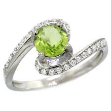peridot engagement ring peridot engagement rings