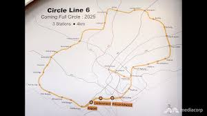 Singapore Mrt Map With Final 3 Stations Circle Line Will Come U0027full Circle U0027 By 2025