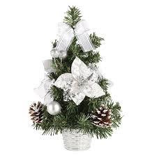 uk fancy mini christmas tree decor desk table festival xmas party