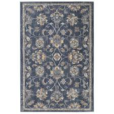 how to pick out an area rug shop allen roth isburg denim rectangular indoor machine made