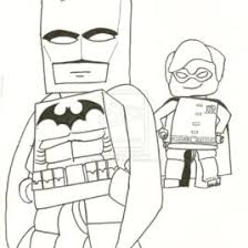 robin lego coloring kids drawing coloring pages marisa