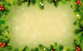green christmas background vector ne wall