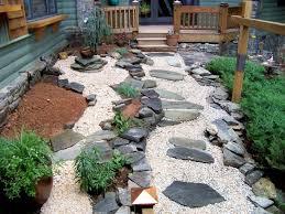 collection of garden decor with stones stone sculpture garden
