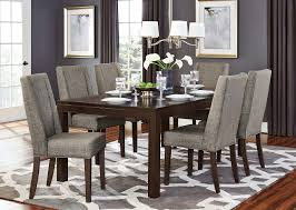 dark dining room table homelegance kavanaugh dining set dark brown d5409 78