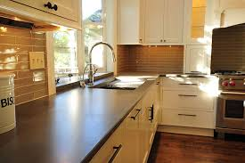 concrete kitchen countertops cost simple and durable concrete