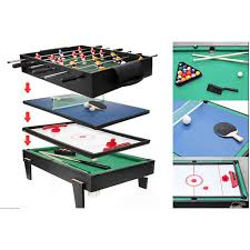 4 in one game table 4 in 1 multi game table for children pool air hockey table