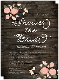 rustic bridal shower invitations cheap bridal shower invitations invite shop