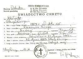catholic marriage certificate halgal genealogy of halychyna eastern galicia